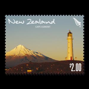 Single $2.00 'Cape Egmont' gummed stamp.