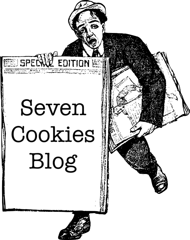 Seven Cookies Blog graphic.
