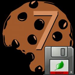 Seven Cookies logo.